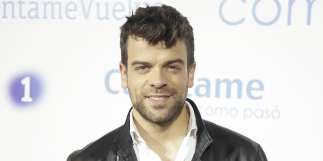 Ricky Merino, durante la presentación de la 19ª temporada de 'Cuéntame' el 24 de enero de 2018 en Madrid.