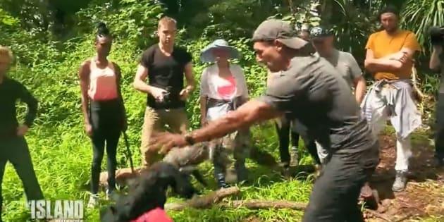 """""""The Island"""": 30 millions d'amis est furieuse à cause de cette séquence avec un caïman"""