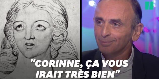 """Zemmour suggère à Hapsatou Sy de s'appeler Corinne, prénom de """"saint chrétien""""... qui n'en est pas un"""