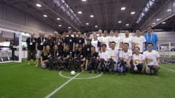 Les Français remportent la Coupe du monde de football... de robots