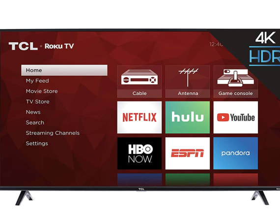 Save over $200 on this 50-inch smart TV fast