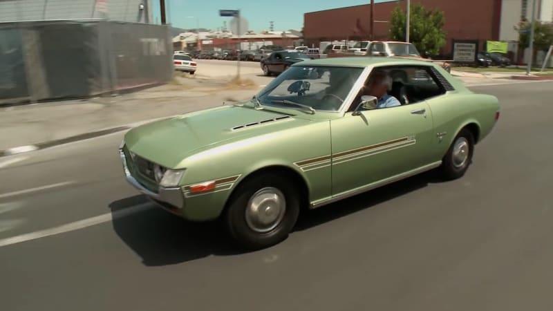 Vintage Toyota Celica Stops In Jay Leno S Garage Autoblog