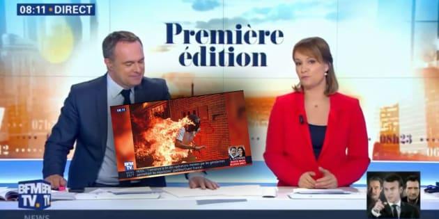 Le commentaire de BFMTV sur la de la meilleure photo d'actualité de l'année exaspère photoreporters