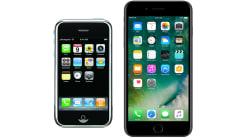 L'évolution de tous les iPhones depuis le début en