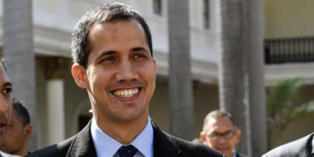Imagen de archivo de Guaidó.