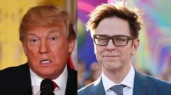 Le réalisateur de «Guardians Of The Galaxy» offre 100 000$ pour voir Trump se faire