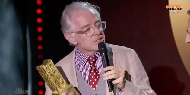 Gérard de la télévision: Mac Lesggy ravi que le jury ait vu le méchant qui sommeille en lui.