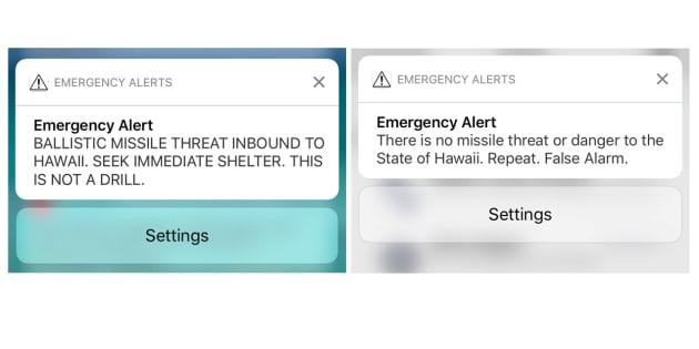 Hawaii, la storia del falso allarme sul razzo in arrivo dalla Corea