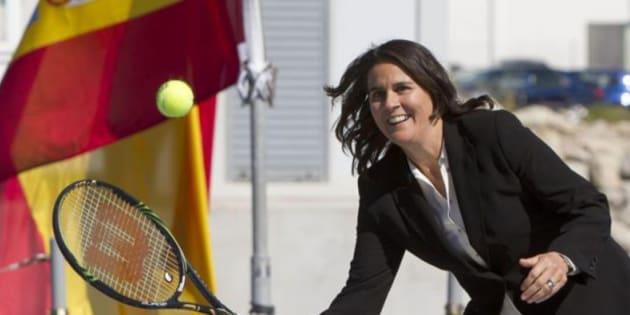 Imagen de archivo de la tenista Conchita Martínez.