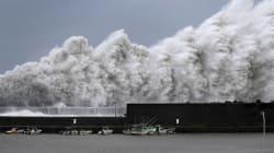 VIDEO: Las imágenes de Jebi, el tifón más fuerte en 25 años que azota a