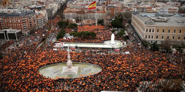 Resultado de imagen de manifestacion madrid