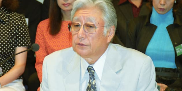 浅利慶太さん(2003年撮影)