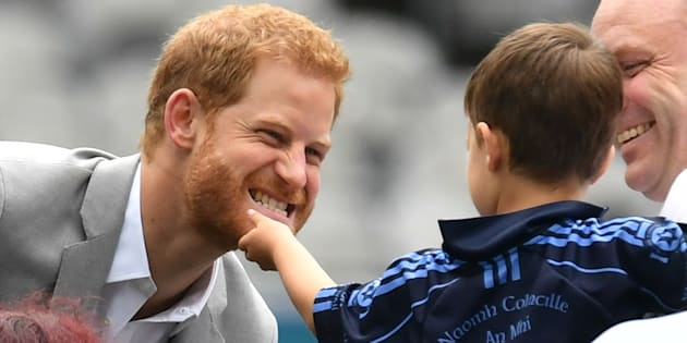All The Times Prince Harry Was Ridiculously Adorable With Little Kids