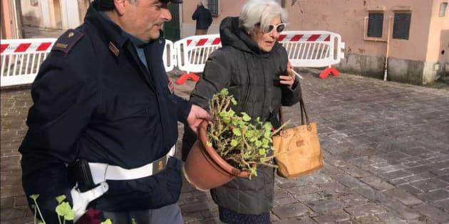 Proseguono le demolizioni per eliminare la zona rossa a Pieve Torina