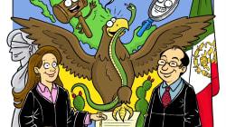 Breve y sin solemnidades: la caricatura que te explica qué hace un juez en