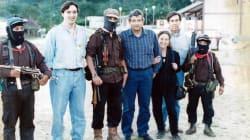 Foto de AMLO, Cárdenas y Rosario Ibarra con zapatistas es