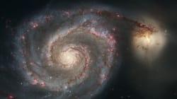 Une galaxie va fusionner avec la Voie Lactée bien plus tôt que