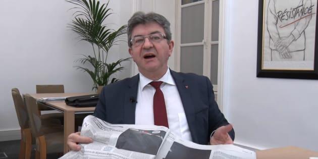 """Comptes de campagne: après Marine Le Pen, Mélenchon menace """"Le Monde"""" d'un procès en diffamation"""