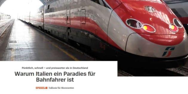 Der Spiegel promuove le ferrovie italiane