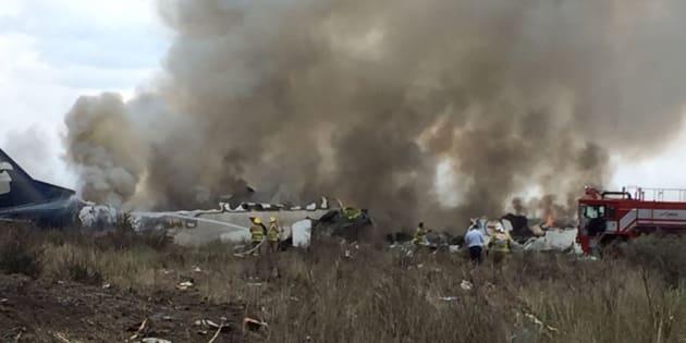 El pasado 31 de julio, un avión de Aeroméxico se vino abajo tras cinco minutos de haber despegado del Aeropuerto Guadalupe Victoria, en el estado de Durango con 103 pasajeros a bordo.