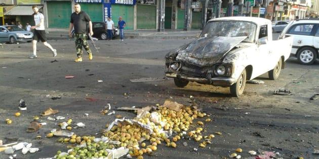 Dans le sud de la Syrie (ici à Soueïda), une série d'attentats suicide et d'assauts contre des villages ont fait des dizaines de victimes
