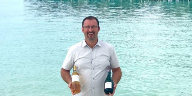 9 questions posées à Jérôme Faure pour mieux connaître ce sommelier de l'océan Indien.