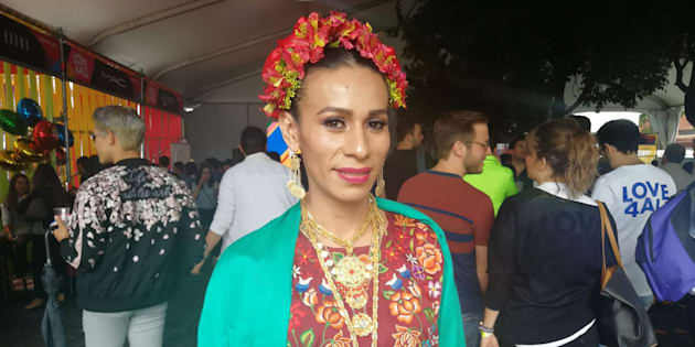 Naomy Méndez fue una de las invitadas al evento #Love4AllMx.