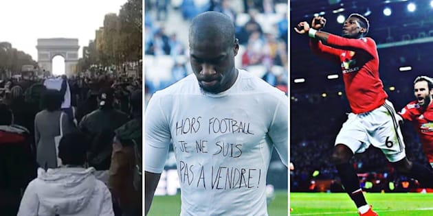 Pogba, Aurier, Kondogbia... Les footballeurs s'indignent après les images de vente d'esclaves en Libye.
