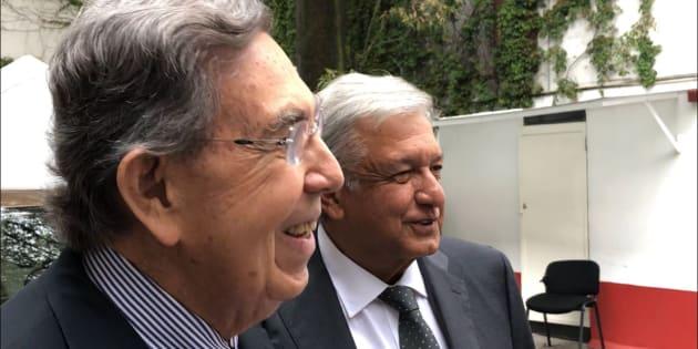 El pasado martes 3 de julio el ingeniero Cárdenas se reunió con AMLO en la casa de transición del político tabasqueño.