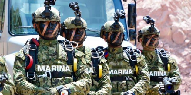 Centro de Entrenamiento Avanzado de la Armada de México en Donato de Guerra, Estado de México, el 27 de marzo de 2017.