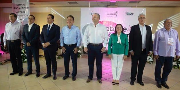 Cuauhtémoc Blanco, Alejandro Vera Jiménez y Rodrigo Gayosso usaron datos relacionados a la seguridad del estado para atacar y defender.