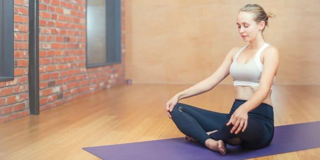 Yoga no es sinónimo de acrobacia.