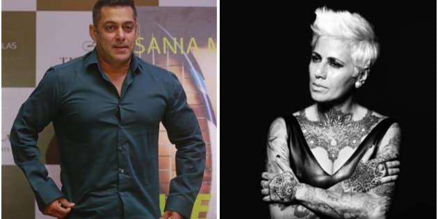 Salman Khan and Sapna Bhavnani.