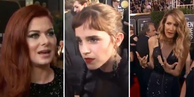 Aux Golden Globes, les actrices ont parfaitement expliqué pourquoi elles portaient toutes du noir.