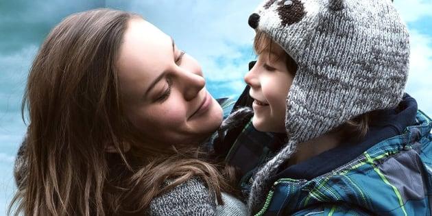 Brie Larson e Jacob Tremblay em cena de 'O Quarto de Jack'.