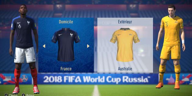 """L'IA de """"FIFA 18"""" va vous rendre optimiste avant France-Australie."""