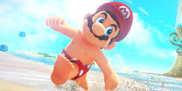 """Croyez-le ou non mais Mario a des tétons dans """"Super Mario Odyssey"""""""