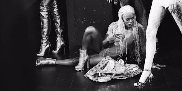 South African photographer Trevor Stuurman has released extraordinary images of performer Teyana Taylor.