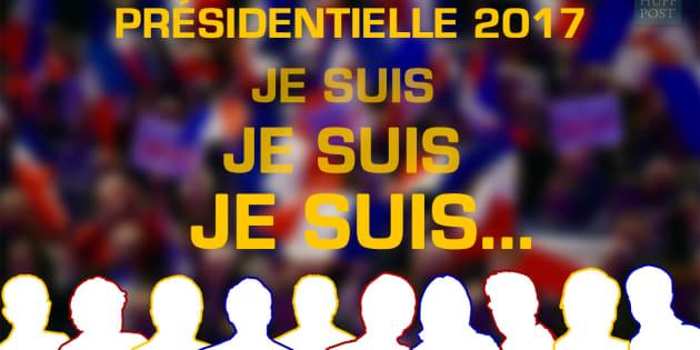"""Mélenchon, Macron, Hamon, Le Pen, Fillon... Le grand """"Qui suis-je?"""" de la présidentielle. Connaissez-vous bien les candidats?"""
