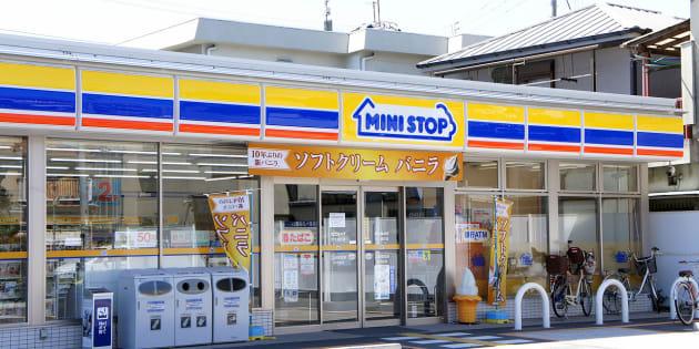 ミニストップ茨木真砂店(2011年撮影)