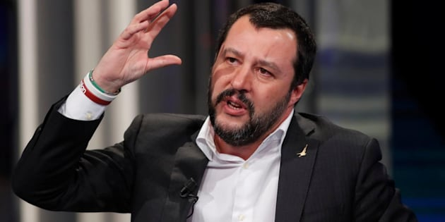 Imagen de archivo del ministro del Interior, Matteo Salvini.
