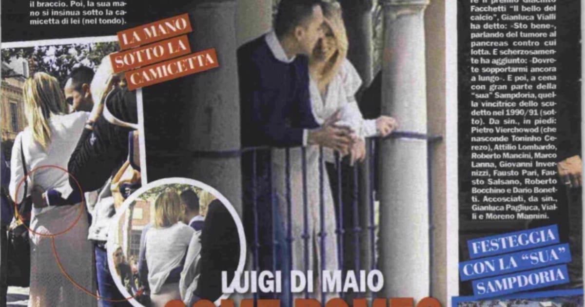 """Virginia Saba è la nuova compagna di Di Maio: """"Mi sono innamorata del coraggio e della gentilezza di Luigi"""""""