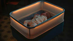 Cot Designed To Simulate Moving Car Is Actually A Parent's Worst