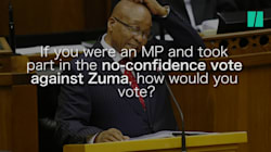 'Zuma Must F*koff' -- We asked South Africans How They Would Vote In A No-Confidence