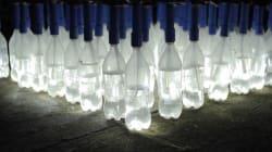 VIDEO: ¡Y se hizo la luz!, un foco hecho de materiales reciclados