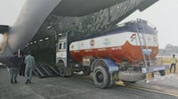 IAF Airlifts Fuel To Manipur That Has Been Cut Off From Mainland India For Nearly 3 Months