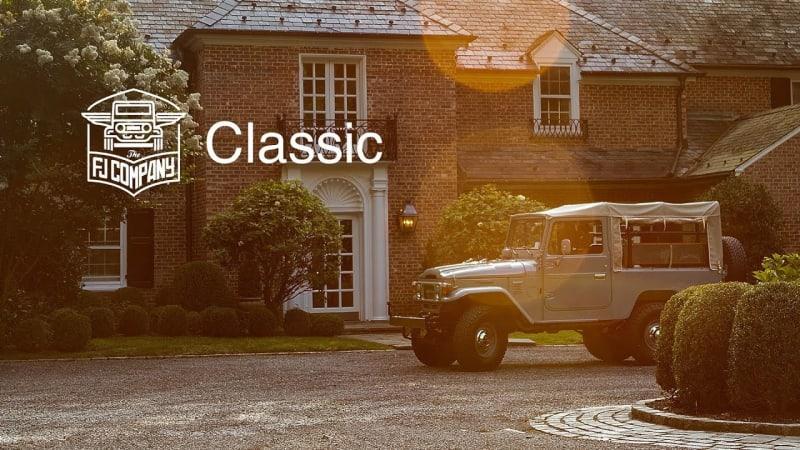 Watch The FJ Company perfectly restore a classic Toyota Land Cruiser