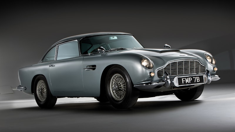 Aston Martin building 28 Goldfinger DB5 reproductions — complete with gadgets