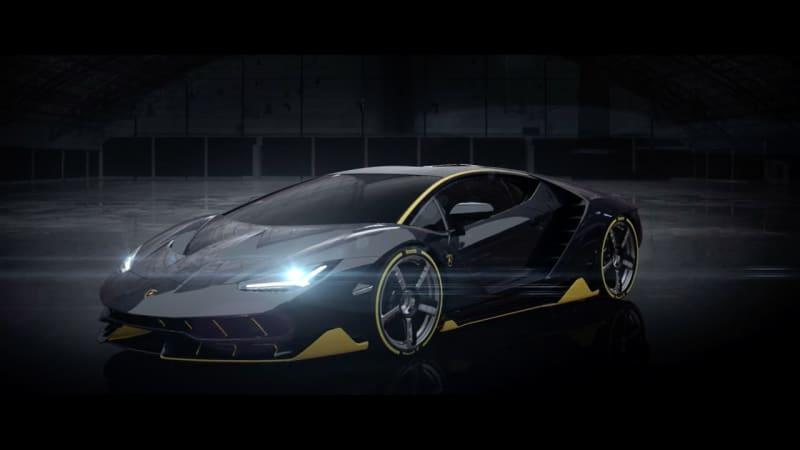 Lamborghini Centenario Will Punch Out 770 Hp Autoblog