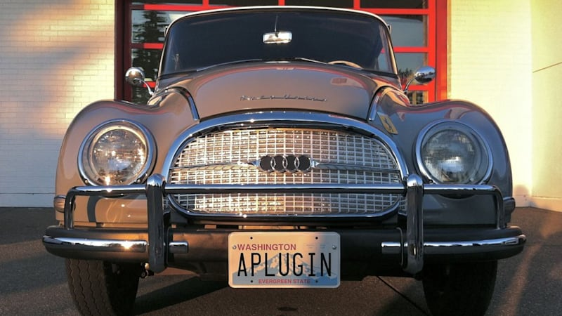 Electric Auto Union Has Vintage Looks Modern Power